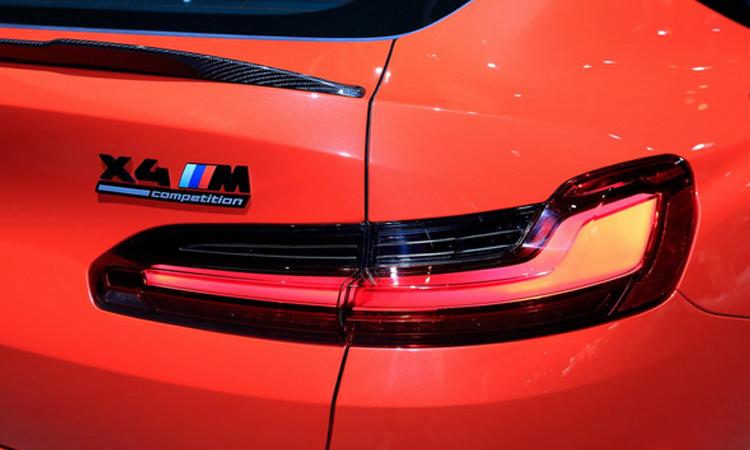 ดีไซน์ไฟท้าย all-new BMW X4 M Model