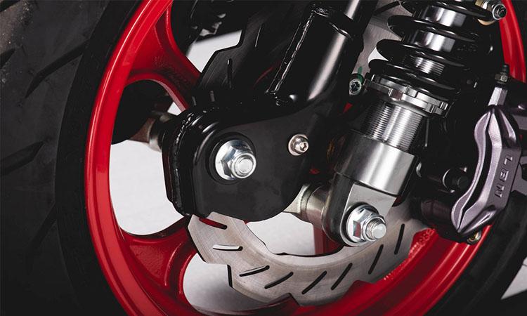 ล้อ Scomadi TT125i และ TT200i The Who Limited Edition