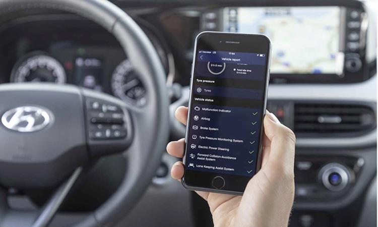 เชื่อมต่อโทรศัพท์ Hyundai i10