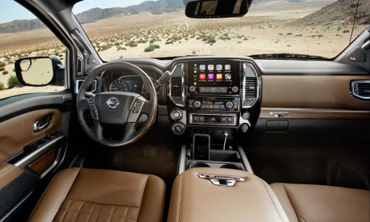 ดีไซน์ภายใน Nissan Titan 2020