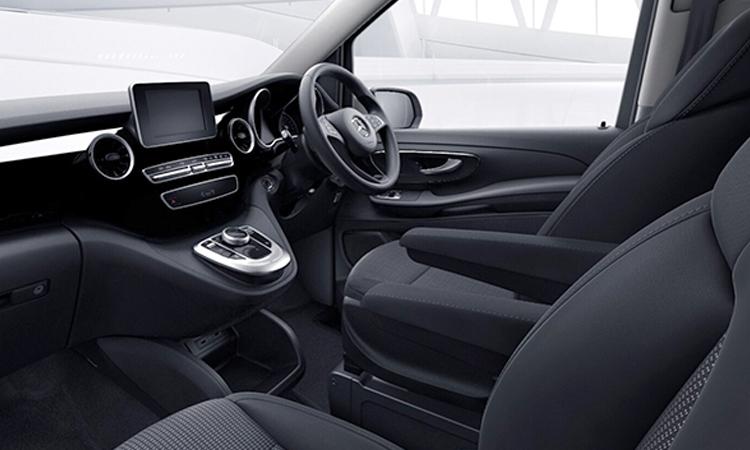 ดีไซน์ภายใน Mercedes-Benz V-Class