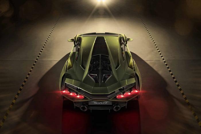 ปล่อยภาพ Lamborghini Sián ซุปเปอร์คาร์ไฮบริด ที่มีแต่ Lamborghini เท่านั้นที่สามารถทำได้ 8
