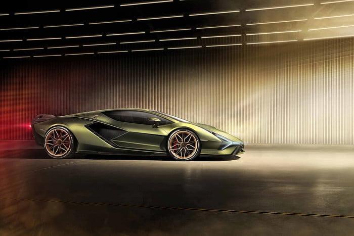 ปล่อยภาพ Lamborghini Sián ซุปเปอร์คาร์ไฮบริด ที่มีแต่ Lamborghini เท่านั้นที่สามารถทำได้ 5