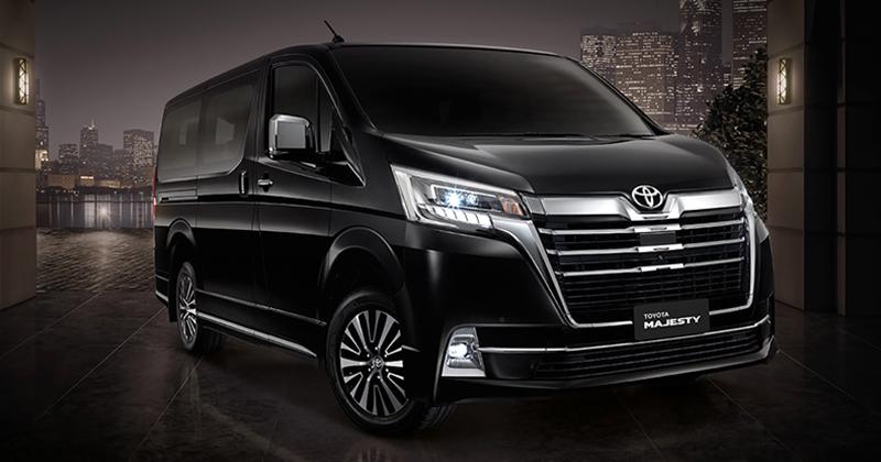 Toyota นำเข้ารถตู้ Majesty ปี 2020-2021 1