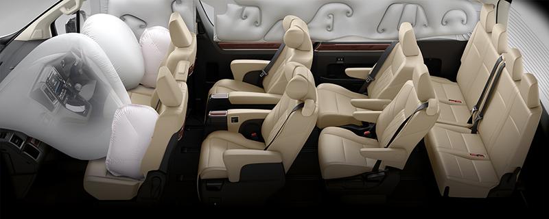 ราคา ตารางผ่อนดาวน์ All NEW Toyota Majesty (นำเข้า CBU) ปี 2020-2021 4