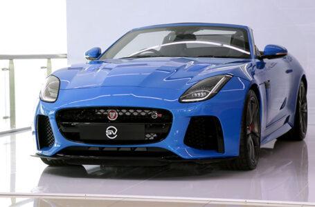 เผยโฉมรถสปอร์ตตัวแรง Jaguar F-TYPE SVR ตะกูล F-TYPE ค่าตัว 12.999 ล้านบาทเท่านั้น
