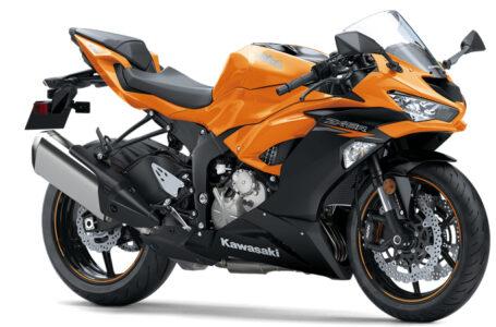 เปิดตัวสีส้มใหม่ของ Kawasaki ZX-6R ปี 2020