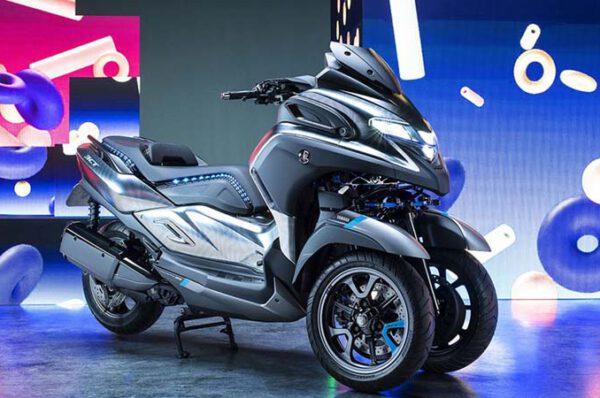 เผยโฉม Yamaha Tricity 300 ปี 2020 อย่างเป็นทางการ!
