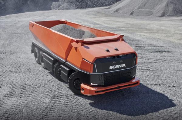 เตรียมพบกับ Scania AXL รถขนดินไรคนขับ