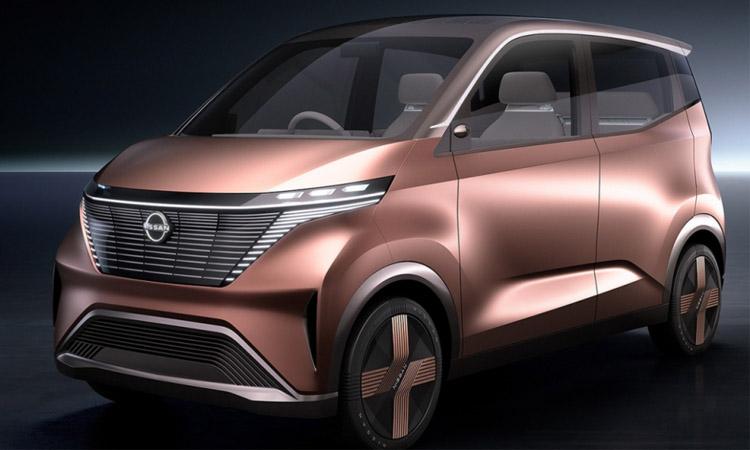 ดีไซน์ Nissan IMk EV 100%