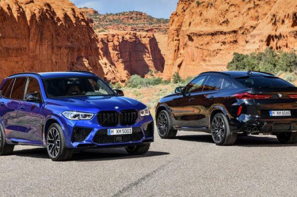 BMW เปิดตัวรถอเนกประสงค์ BMW X5 M และ BMW X6 M