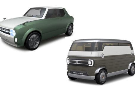 Suzuki เปิดภาพรถต้นแบบแนวย้อนยุค Suzuki Waku Spo และ Hanare ในงาน Tokyo Motor Show 2019