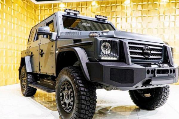 Mercedes-Benz G500 4×4 หุ้มเกราะ เจาะหลังคาจากสำนักแต่ง Gruma