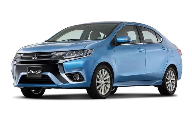Mitsubishi Mirage / Attrage ได้มีการปรับโฉมใหม่ และเตรียมเปิดตัวในไทย ที่งาน Motor Expo 2019