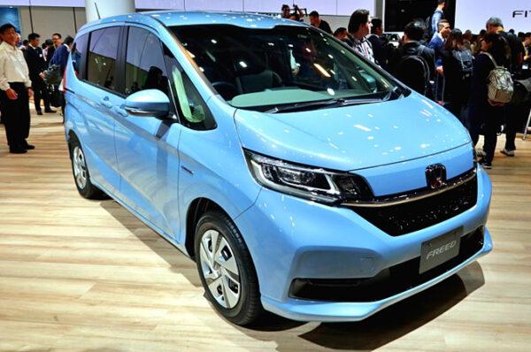 Honda Freed ไมเนอร์เชนจ์ รถครอบครัวที่ไม่เข้าไทย