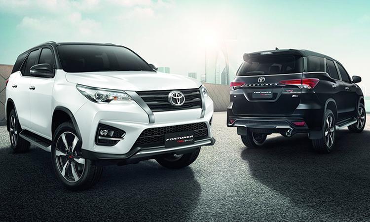 ราคา Toyota Fortuner TRD Sportivo2 1,709,000 – 1,799,000 บาท พร้อมตารางผ่อน/ดาวน์