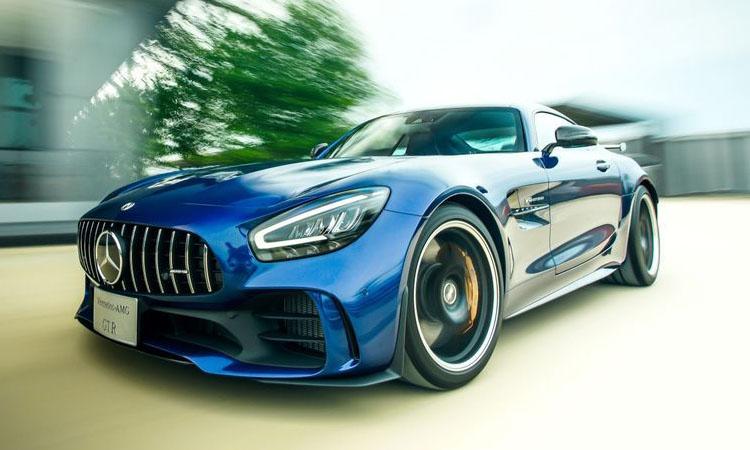 Mercedes- Benz AMG GT R สปอร์ตหรูตัวแรง กับค่าตัว 17.9 ล้านบาท
