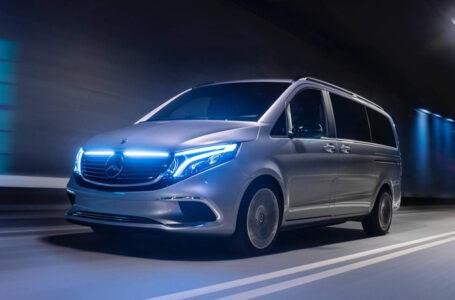 Mercedes-Benz Concept EQV ต้นแบบรถตู้ไฟฟ้าของค่าย Mercedes-Benz