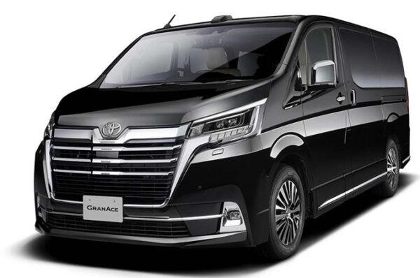 Toyota GranAce รถตู้สุดหรู เปิดตัวและวางจำหน่ายในประเทศญี่ปุ่น