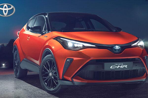 Toyota C-HR Minorchange ตัวถังสีส้มใหม่ พร้อมเครื่องยนต์เบนซิน 2.0 Hybrid 184 แรงม้า
