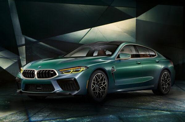 BMW เปิดตัว M8 Gran Coupe รถสปอร์ตซีดานแบบ 4 ประตู ที่สหรัฐอเมริกา