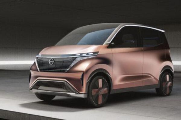 Nissan IMk Concept รถไฟฟ้าอเนกประสงค์สุดหรู