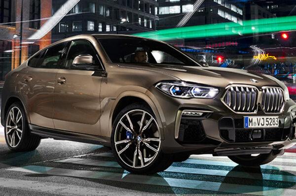 All-new BMW X6 2020 ครอสโอเวอร์สุดพรีเมี่ยม