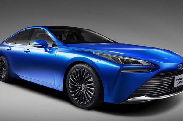 Toyota พลิกโฉม Toyota Mirai Concept รถต้นแบบ รถพลังงานไฮโดรเจน