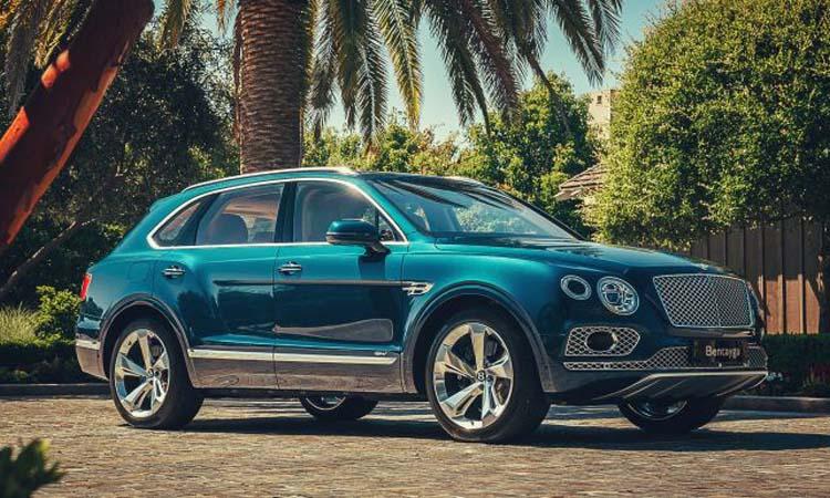 Bentley Bentayga Hybrid รถเอสยูวีระบบไฟฟ้าแบบเต็มตัว ราคา 4.94 ล้านบาท