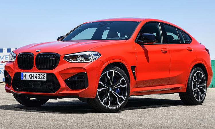 ดีไซน์หน้า BMW X4 M