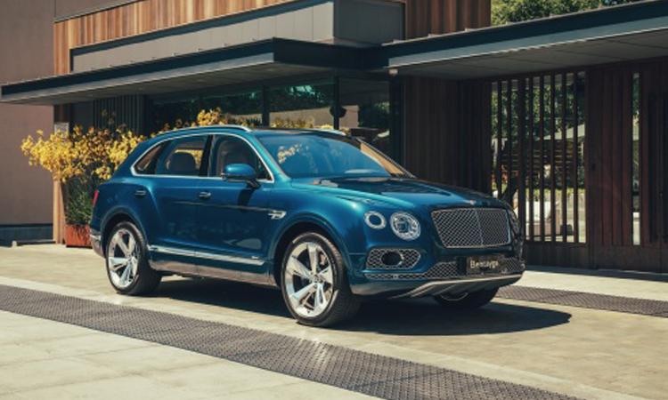 Bentley Bentayga Hybrid SUV หรู พลังงานไฮบริด ที่มีความแรงถึง 443 แรงม้า