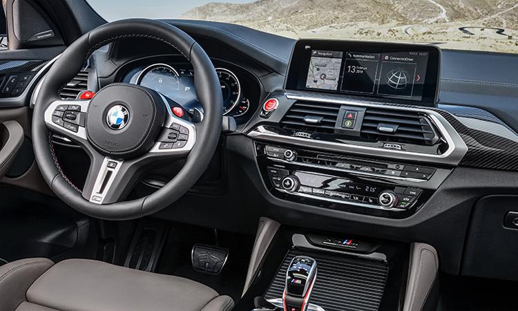 ดีไซน์จอกลาง BMW X3 M