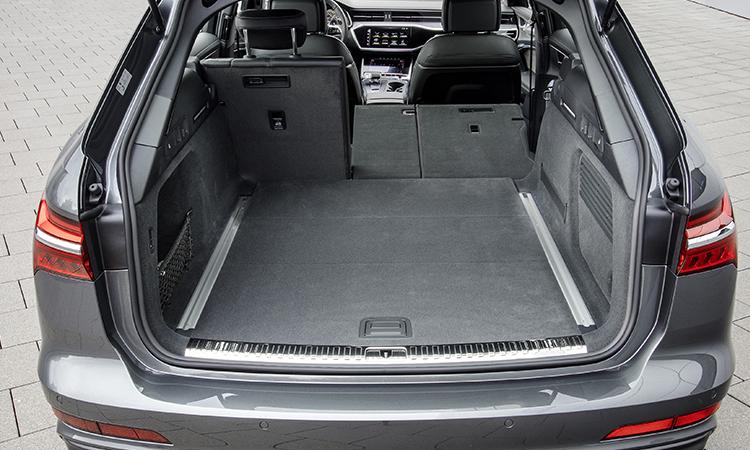 ปรับ ที่เก็บสำภาระด้านหลัง ราคาอย่างเป็นทางการ Audi A6 Avant 45 TFSI quattro S-Line Black Edition