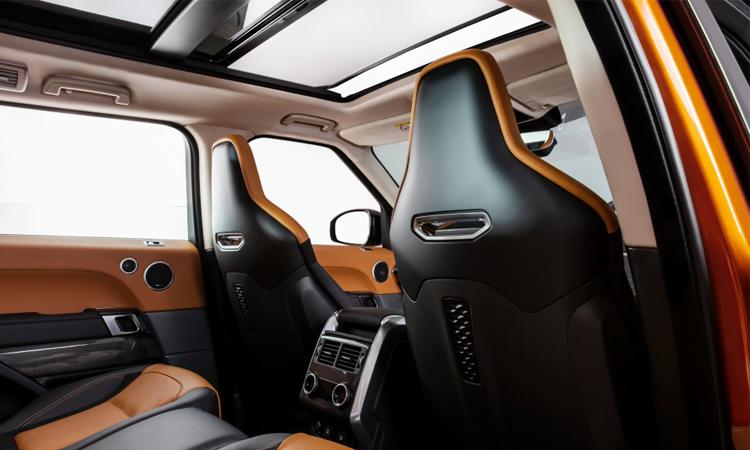 ดีไซน์เบาะ Range Rover Sport SVR