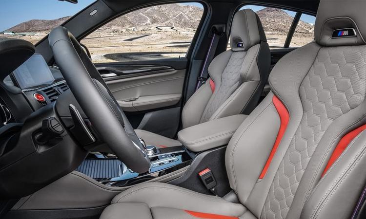 ดีไซน์เบาะ BMW X3 M