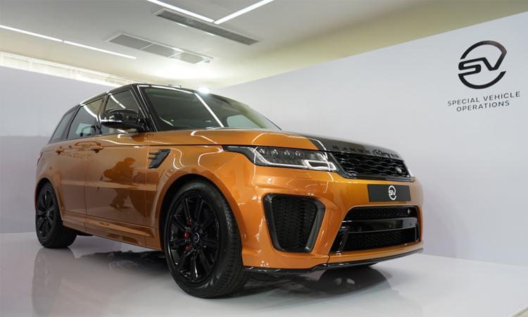 Range Rover Sports SVR เอสยูวีขุมพลัง V8 ราคา 13.999 ล้านบาท