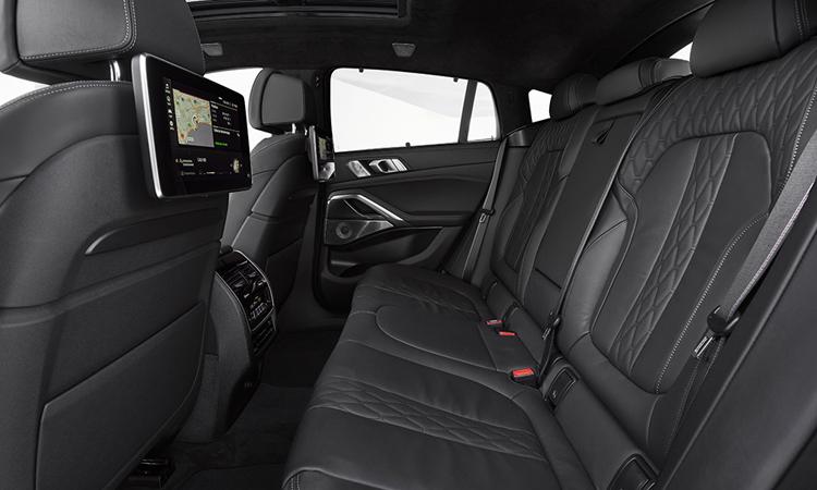 เบาะหลัง All-new BMW X6 2020