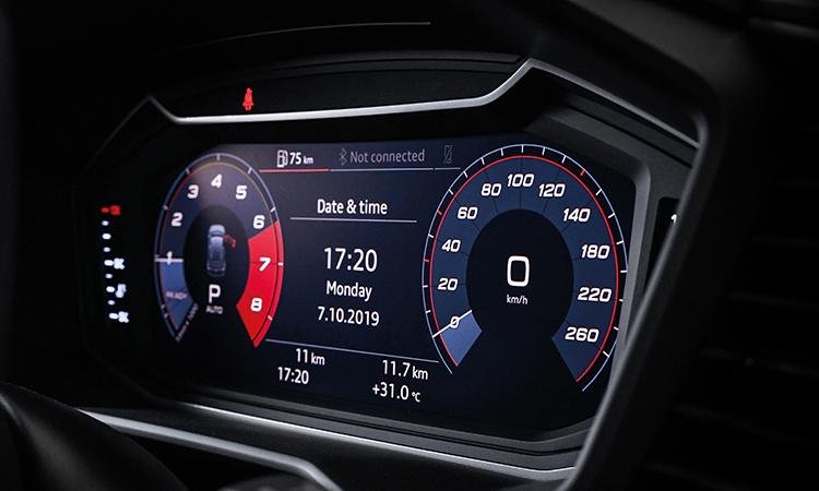เรือนไมล์ Audi A1 Sportback 35 TFSI S-Line