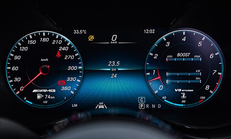 เรือนไมล์ Mercedes-AMG GT R