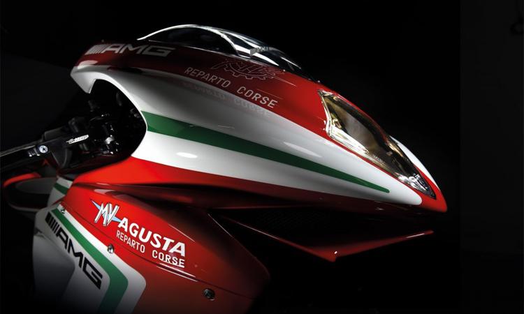 ด้านหน้า MV Agusta F3 675 RC