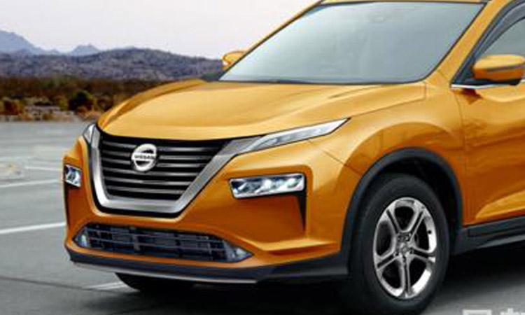 ดีไซน์ด้านหน้าใหม่ NEW Nissan X-Trail e-POWER โฉมใหม่
