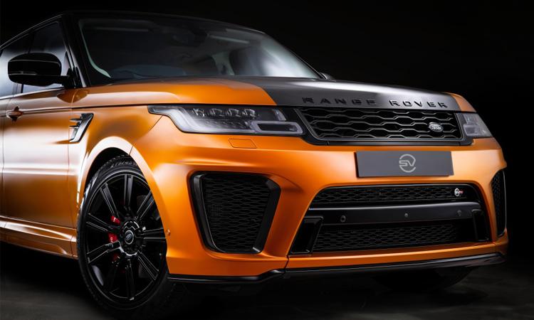 กระจังหน้า Range Rover Sport SVR