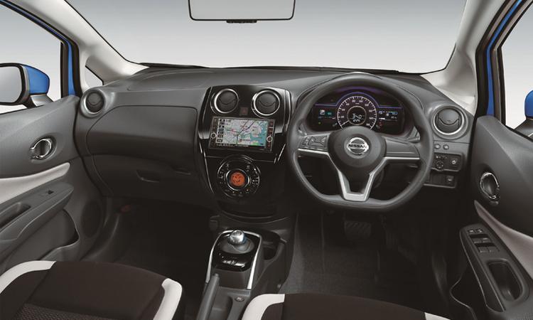 ภายใน Nissan Note V Selection