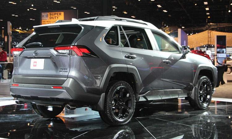 ดีไซน์ภายนอก Toyota RAV4 TRD Off-Road 2020
