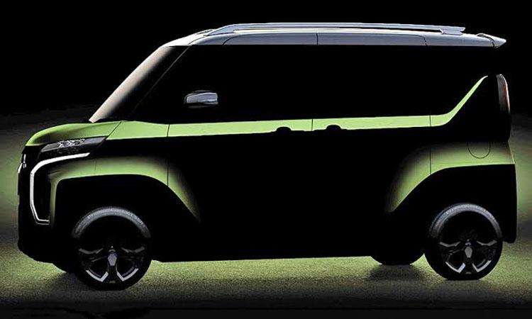 ดีไซน์ Mitsubishi Super Height K-Wagon Concept