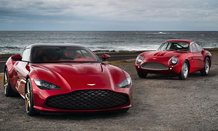 Aston Martin ขายคู่ DBS GT Zagato และ DB4 GT Zagato Continuation ด้วยราคา 255 ล้านบาท