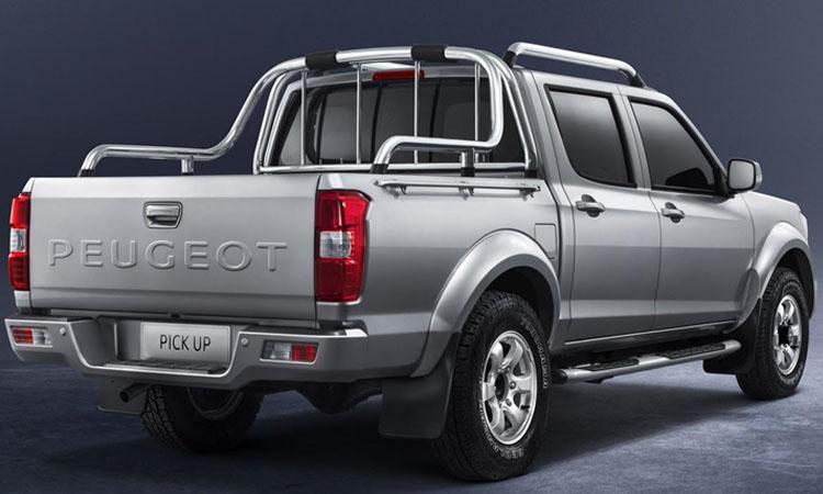 ดีไซน์ด้านหลัง Peugeot 1-Ton Pick-up