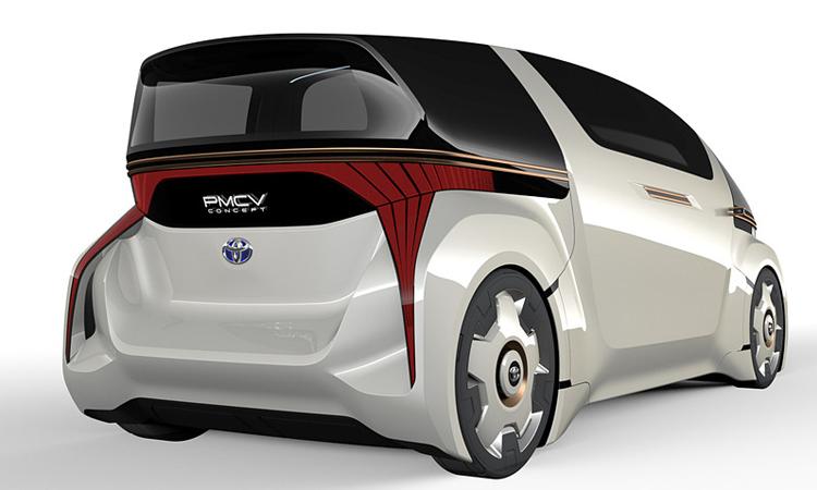 Toyota PMCV Concept ดีไซน์