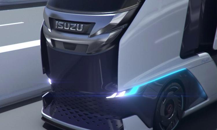 Isuzu FL IR Truck กระจังหน้า