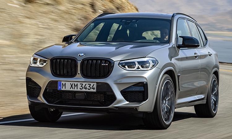 ภายนอก BMW X3 M